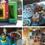 poupar em festas de aniversário