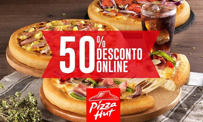Pizza Hut com desconto online