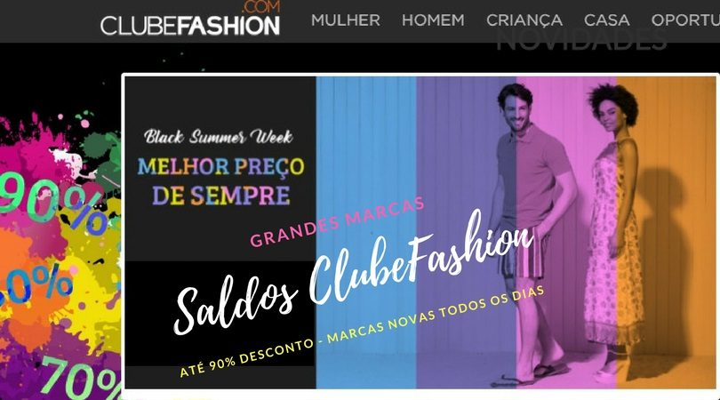 saldos clubefashion