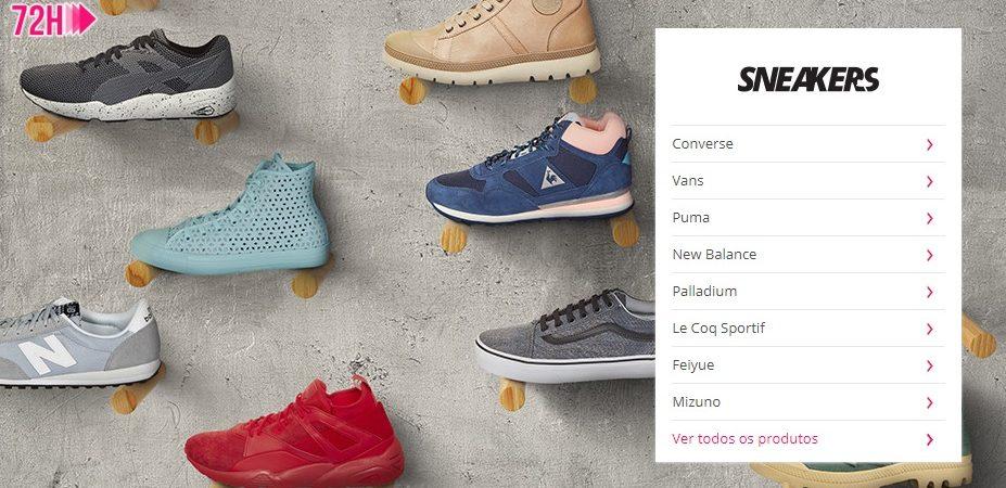 descontos sapatilhas