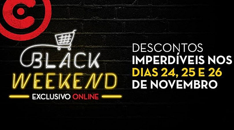 black weekend continente