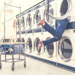poupar na lavandaria