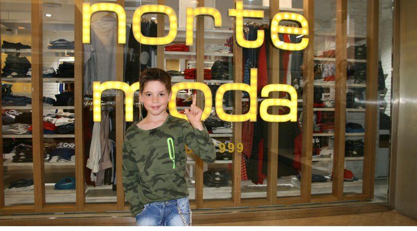 norte moda criança