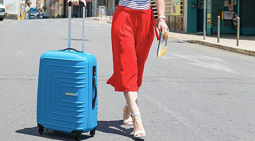 poupar na bagagem