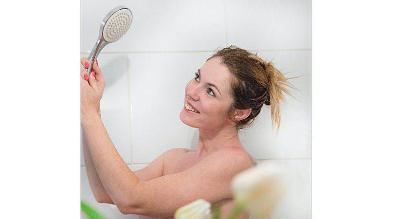 toma duche