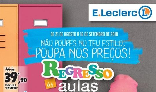Folheto ELeclerc – Regresso às Aulas