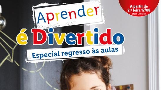 ANTEVISÃO Folheto LIDL – Regresso às Aulas