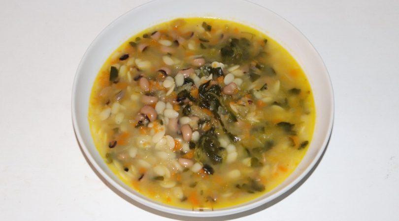 sopa de feijão frade