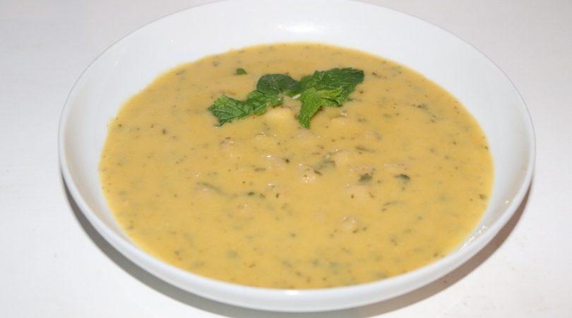sopa de grão