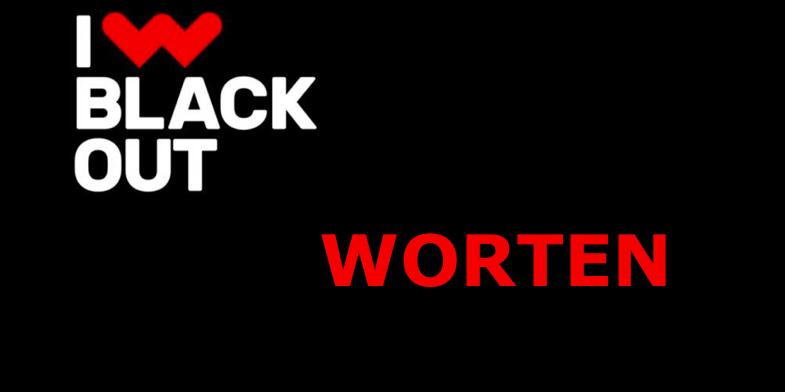 black out worten