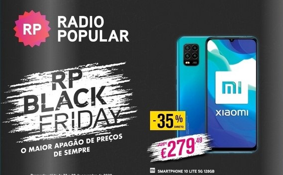 Folheto Rádio Popular – Black Friday