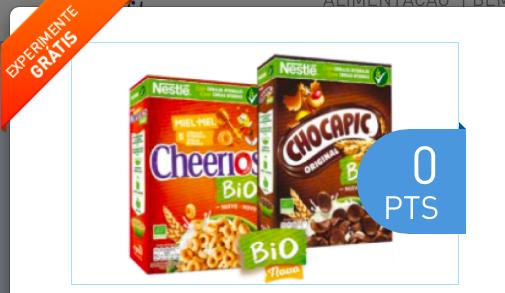 cheerios e chocapic