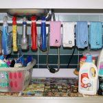arrumação detergentes