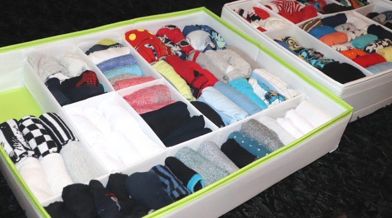 como dobrar meias
