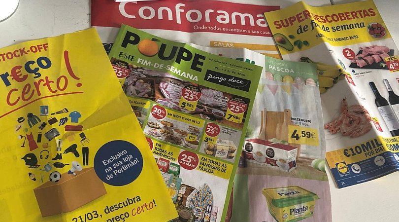folhetos de supermercado