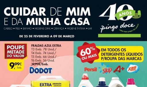 Folheto Pingo Doce – Cuidar de mim e minha casa