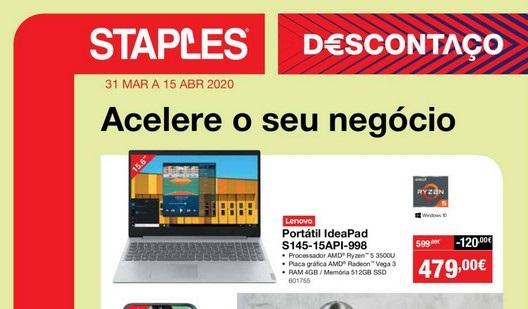 Folheto Staples