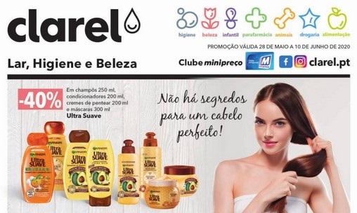 Folheto Clarel ANTEVISÃO