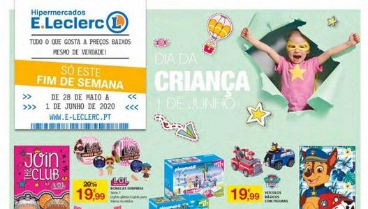 Novo Folheto ELeclerc – Dia da Criança