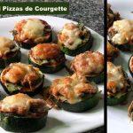 pizza de courgette
