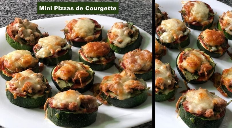 pizza de courgette