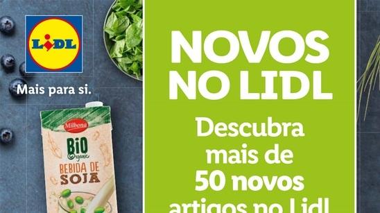 ANTEVISÃO Folheto LIDL – Novos no LIDL