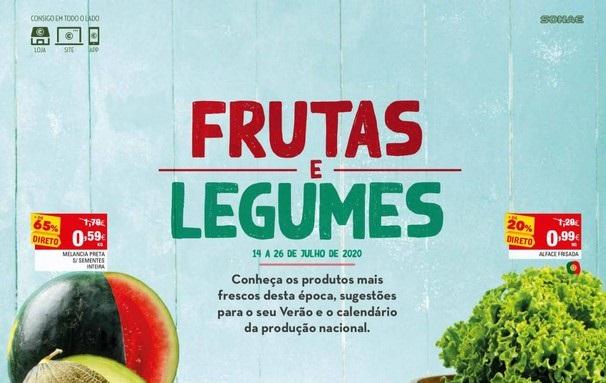 Novo Folheto Continente – Frutas e Legumes