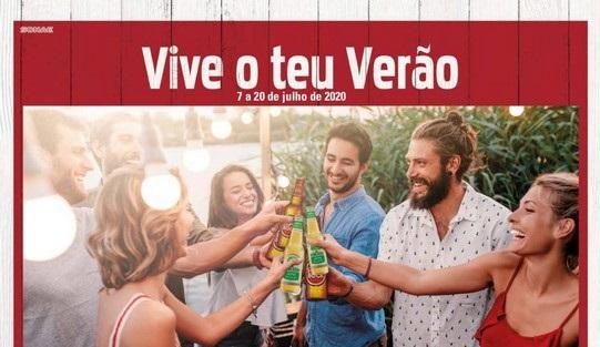 Novo Folheto Continente – Vive o teu verão