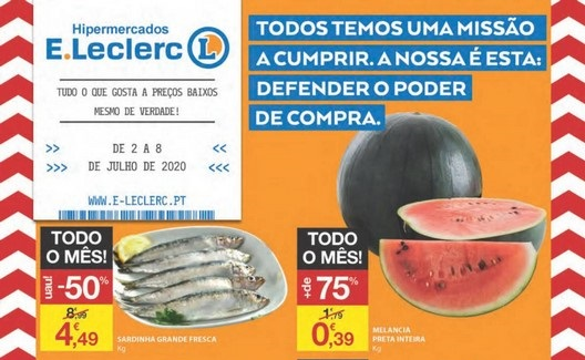 Folheto ELeclerc