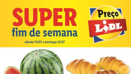 Antevisão Folheto Super Fim de Semana LIDL