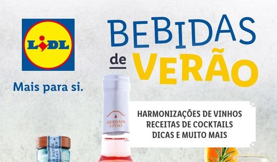ANTEVISÃO Folheto LIDL – Bebidas de Verão