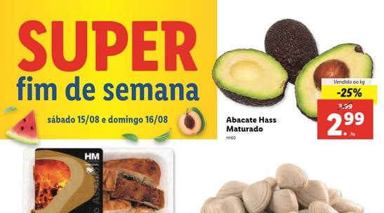 Novo Folheto Super Fim de Semana LIDL