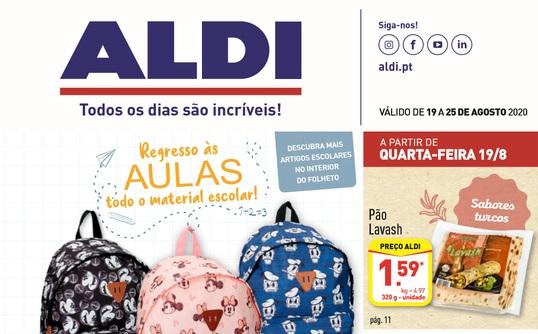 Folheto ALDI Antevisão