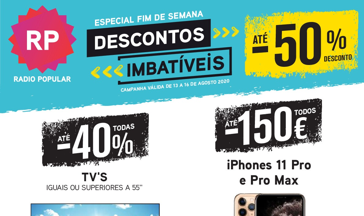 Novo Folheto Fim Semana Radio Popular
