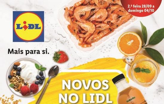 Folheto LIDL – Novos no LIDL