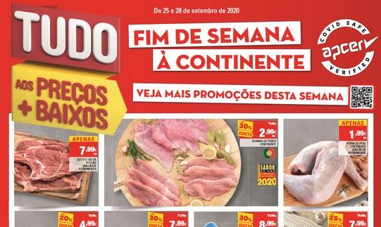 Novo Folheto Fim De Semana à Continente