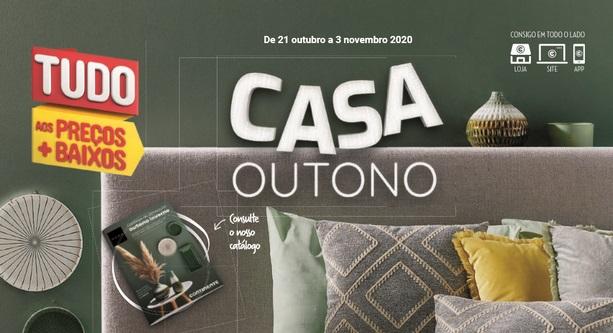 Novo Folheto Continente – Casa Outono