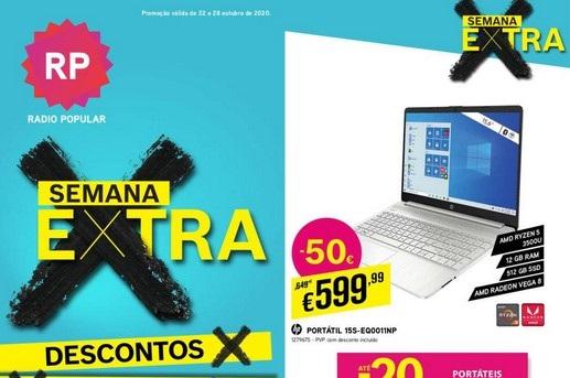 Novo Folheto Radio Popular Extra