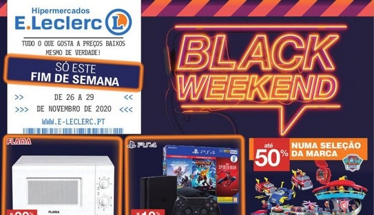 Folheto ELeclerc – Black Weekend