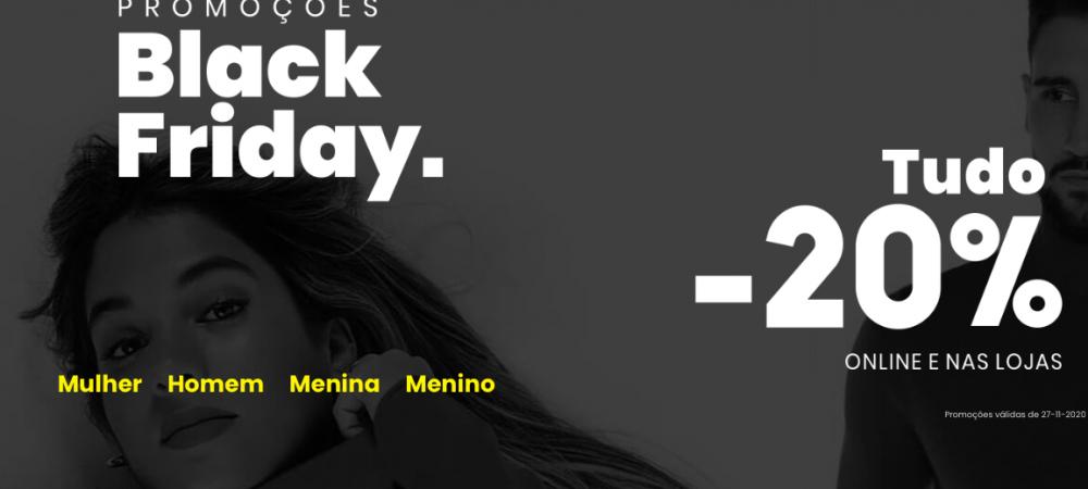 Black Friday norte moda