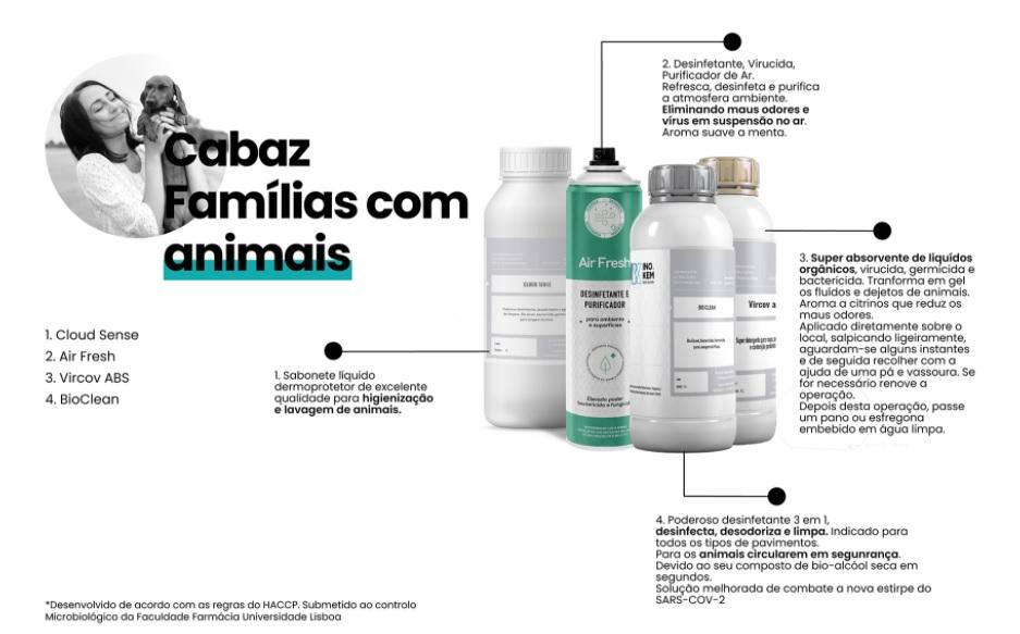 Desinfetantes eficazes