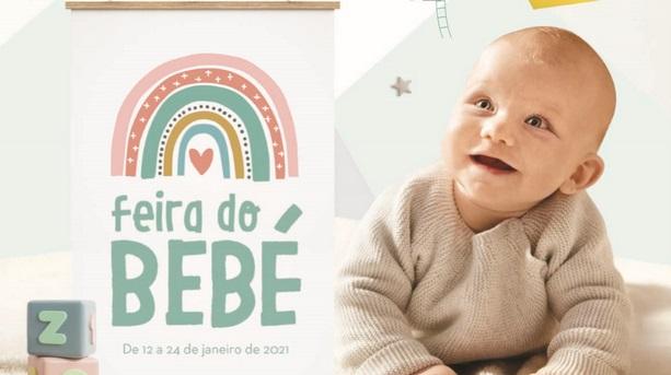 Novo Folheto Continente – Feira do Bebé