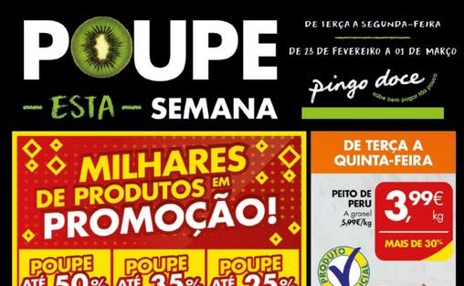 Folheto Pingo Doce Antevisão