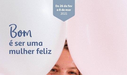 Folheto AUCHAN – Dia da Mulher