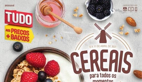 Novo Folheto Continente – Cereais