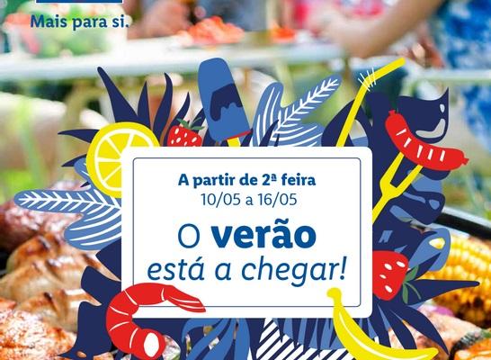 ANTEVISÃO Folheto LIDL – Verão a Chegar