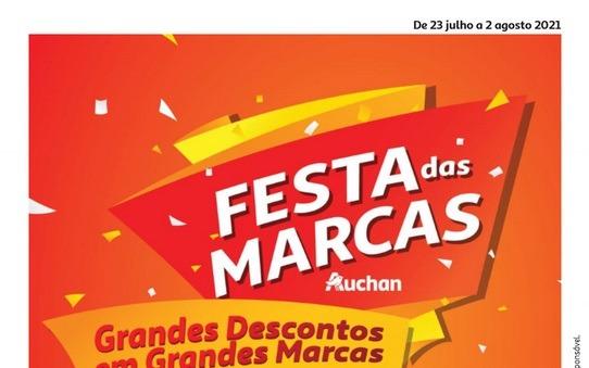 Folheto AUCHAN – Festa das Marcas