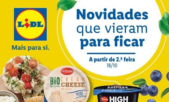 Folheto Novos no LIDL